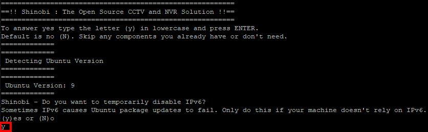 Console Ausschalten IPv6