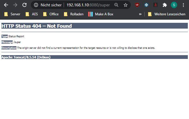 Browser Shibnobi Website /super konnte nicht gefunden werden