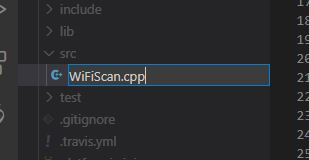 PIO Node MCU - Datei umbenennen