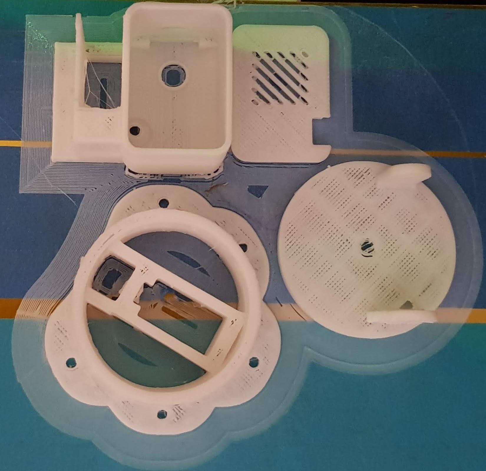 3D Druck PanTilt für ESP Cam Quelle: https://www.thingiverse.com/thing:3579507
