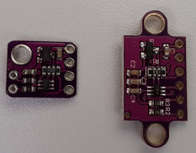 GY-530 VL53L0X Laserentfernungsmesser Rückseite