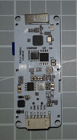 TTGOT-KameraESP32 V163 RückseiteTTGOT-KameraESP32 V163 Rückseite