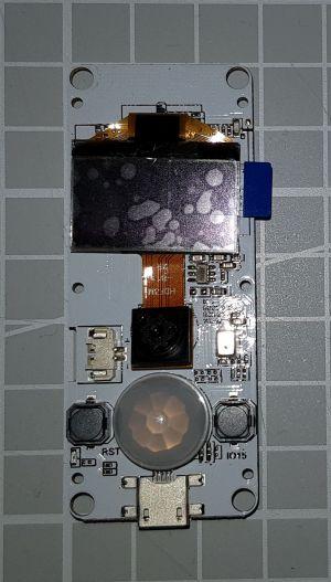 TTGOT-KameraESP32 V163 Front