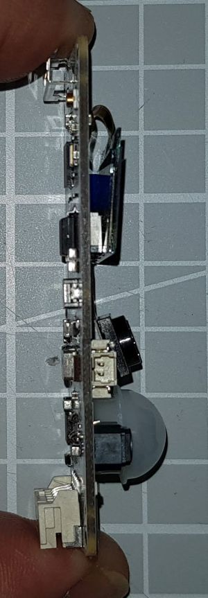 TTGOT-KameraESP32 V163 linke Seite