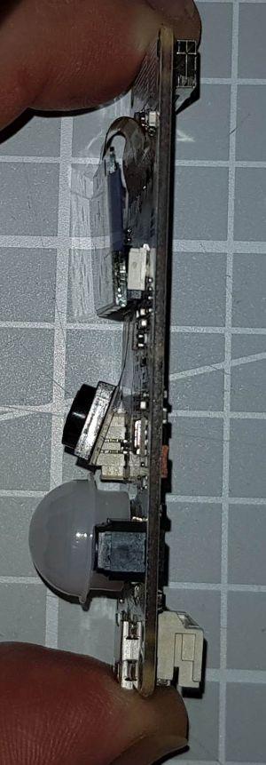 TTGOT-KameraESP32 V163 rechte Seite