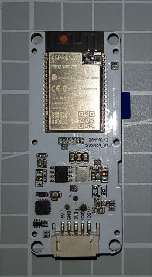 TTGOT-KameraESP32 V17 Rückseite